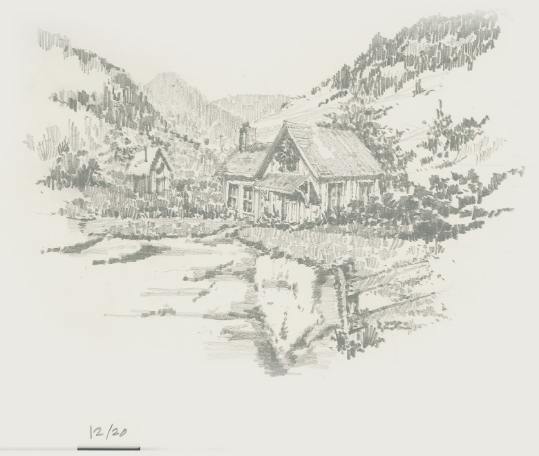 Sketch from Johnson Design